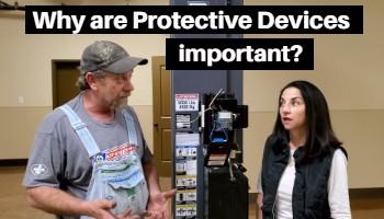 Miles explains Protective Device
